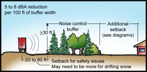 Using Trees and Shrubs to Reduce Noise | Arbor Day Blog