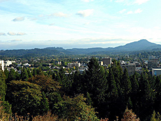 Downtown-Eugene