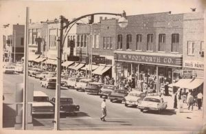 Main Street in the 1950s Photo Credit: Harvey County Historical Society