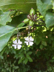rebecca dogwood earrings